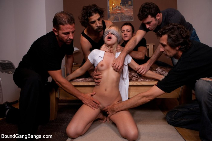 Sasha Rose Gang Bang